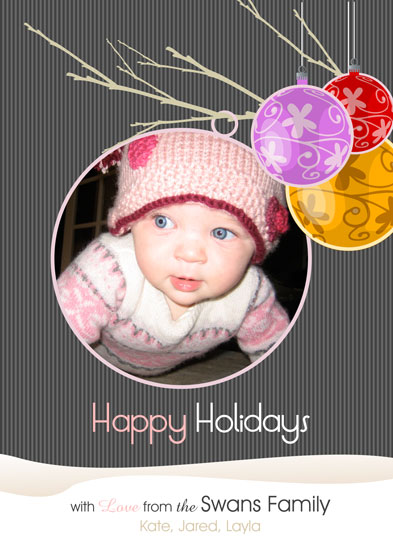 holiday photo cards - Ball of Joy by Ssongji