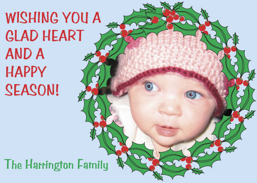 holiday photo cards - Glad Heart by Dan H.