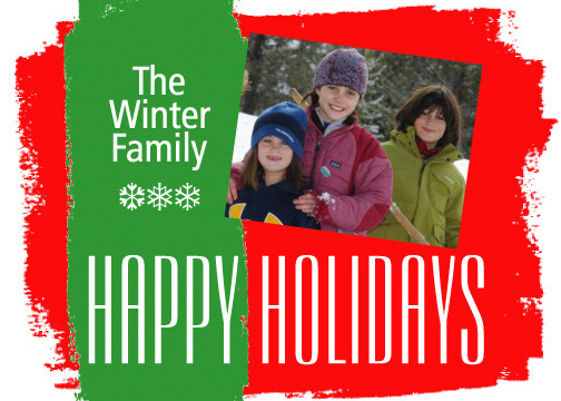 holiday photo cards - Swash Happy Kids! by Dan H.