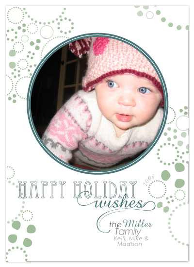 holiday photo cards - Snow flakes by SimpleTe Design
