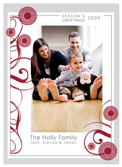 holiday photo cards - Sophisticated Season by Wendy Morales