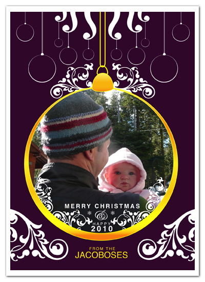 holiday photo cards - The Holi Sphere by VICTOR JACOBO