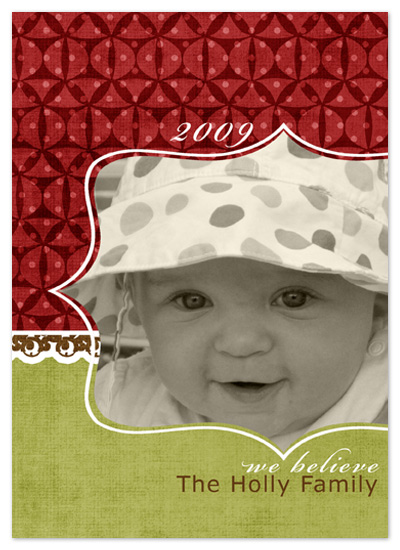 holiday photo cards - Merry and Bright by Wendy Morales