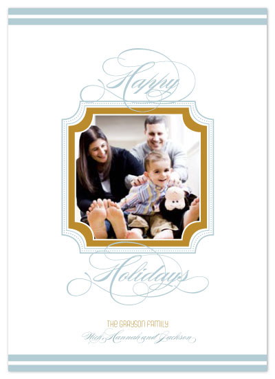 holiday photo cards - Simple Script by Seedlings