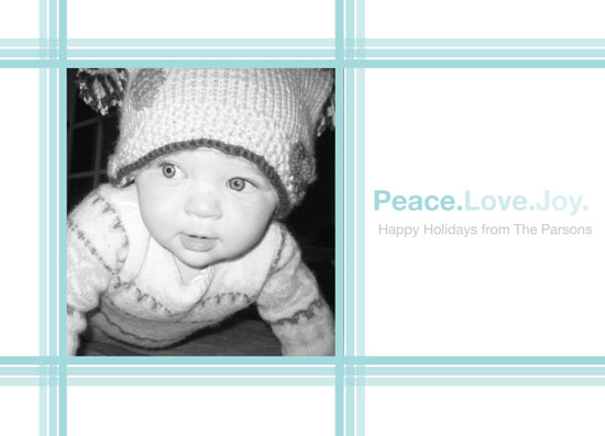 holiday photo cards - peace. love. joy. by Paola Carpintero