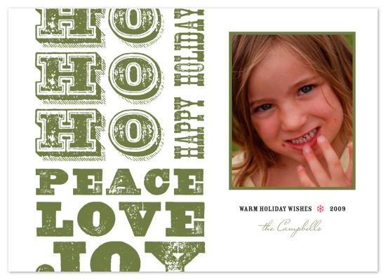 holiday photo cards - Rustic Greetings by Amanda Larsen Design