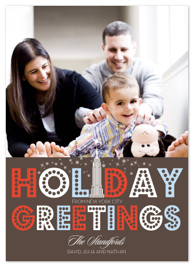 holiday photo cards - Bright Light NYC by Coco and Ellie Design