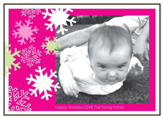 holiday photo cards - Baby Flake by Gisella Battisti