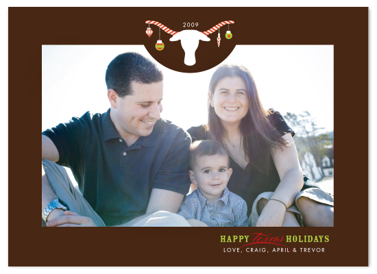 holiday photo cards - Happy Texas Holidays by sweet street gals