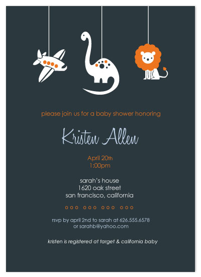 invitations - Planes Dinos & Lions  by Christy White