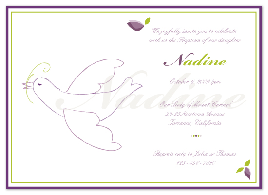 invitations - Divine Invitation by G.