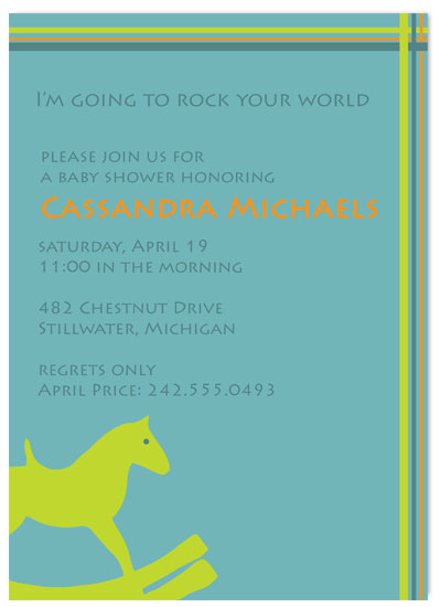 invitations - Rock Your World by Customized Stationary