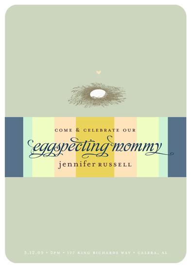 invitations - Eggspecting Mommy by Laurel-Dawn Latshaw