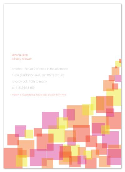 invitations - you're so square by Paola Carpintero