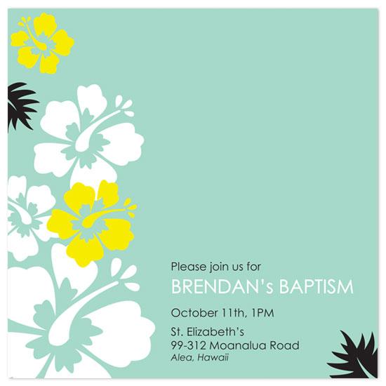 invitations - Aloha Baby by Gisella Battisti