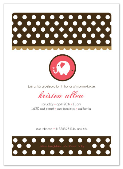 invitations - Polka Dot Joy by Christy White
