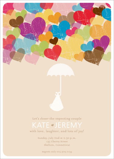 invitations - A Lovely Arrival by Katie Beth Owens