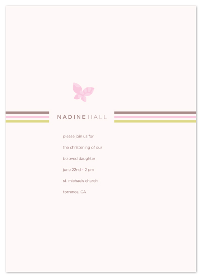 invitations - flutter and stripe by kelli hall
