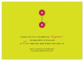 closure envelope invitation