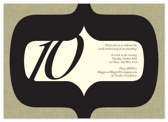 party invitations - Bracket Vibe by Neha Banati