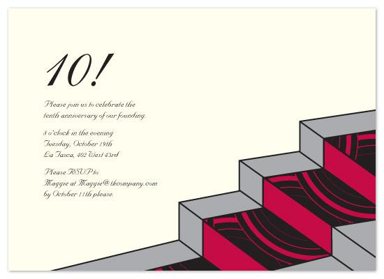 party invitations - Staircase jazz by Neha Banati