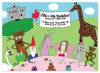 A Very Enchanted 10th Birthday Party