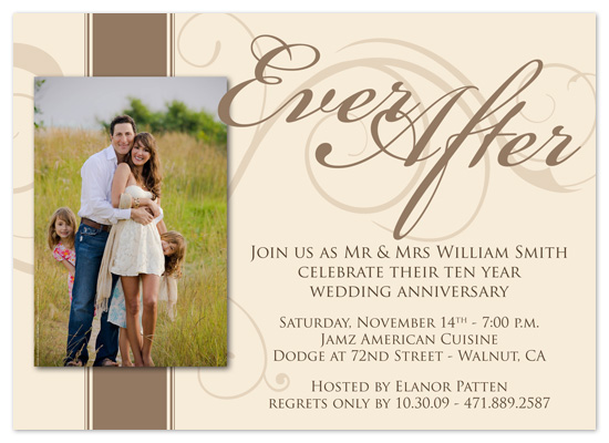 party invitations - Ever After by Amanda Heineman