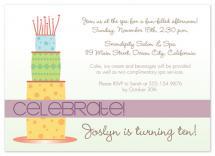 Celebrate Cake by Amanda Heineman
