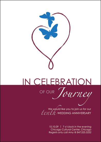 party invitations - Our Journey by JMarie