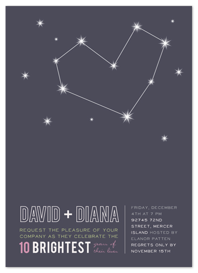 party invitations - Stargazing by Frooted Design