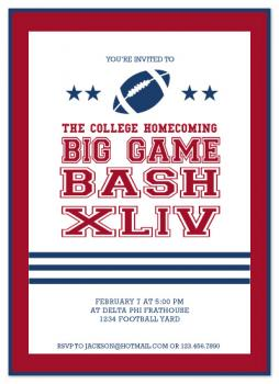 Big Game Bash