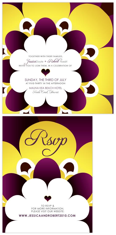 wedding invitations - KALEIDOSCOPE by VICTOR JACOBO