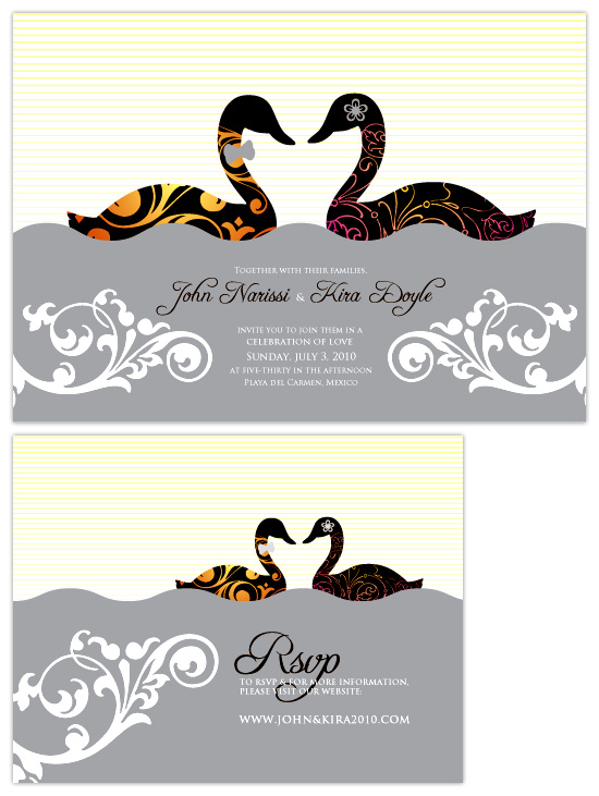 wedding invitations - DUCKLY IN LOVE by VICTOR JACOBO