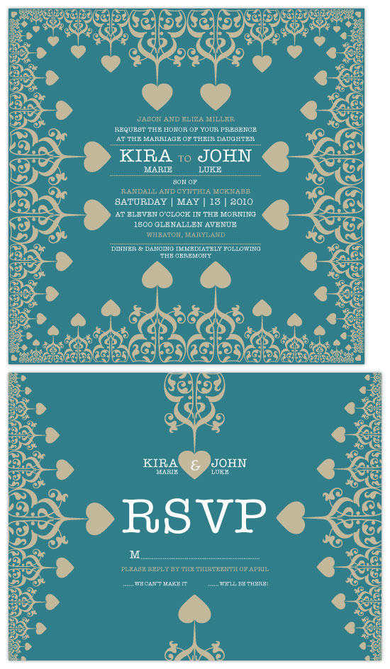 wedding invitations - Our Vintage Love by VICTOR JACOBO