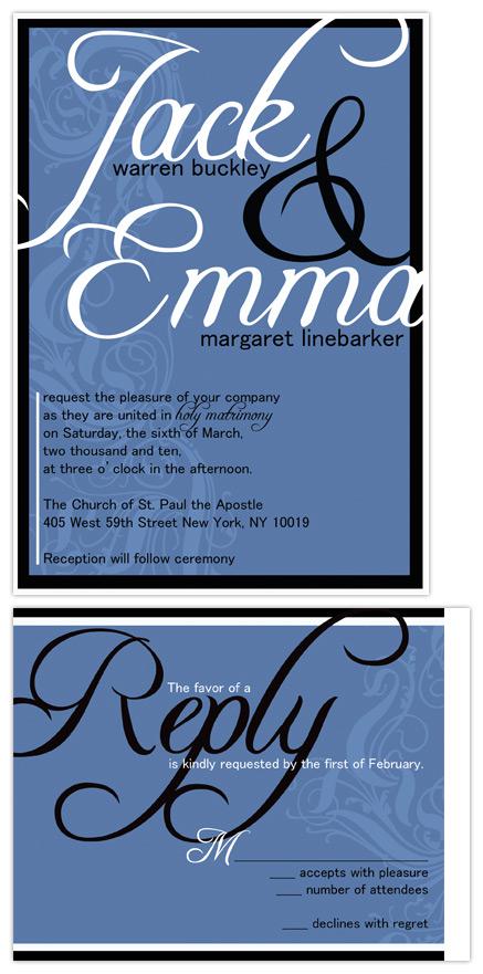 wedding invitations - Holy Matrimony by Christy Vance