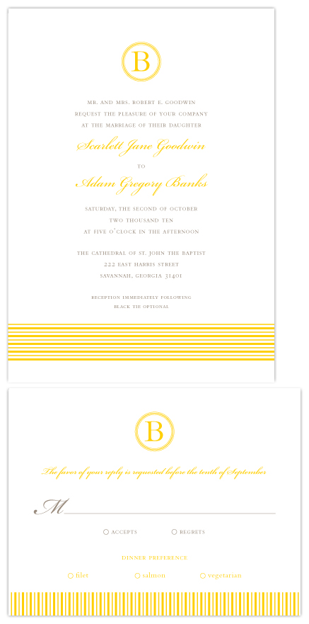 wedding invitations - Sophisticated Love by Love Letters