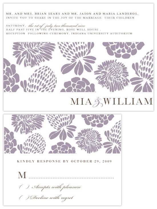 wedding invitations - Uva by Mónica Pérez Álvarez