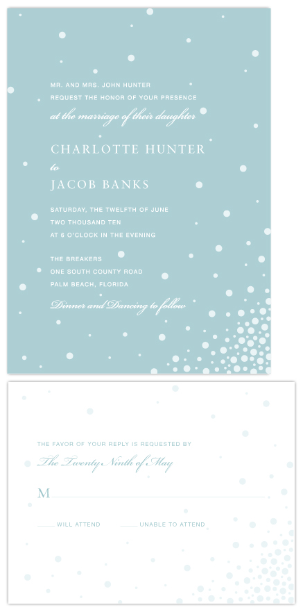 wedding invitations - Love Bubbles by Love Letters