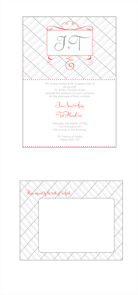 wedding invitations - Vintage Whimsy by .cevd.