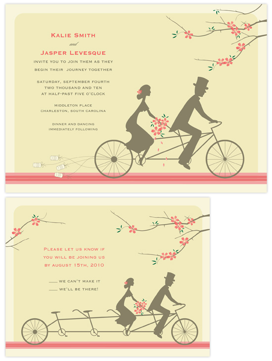 Wedding Invitations Journey Together By Letter19design