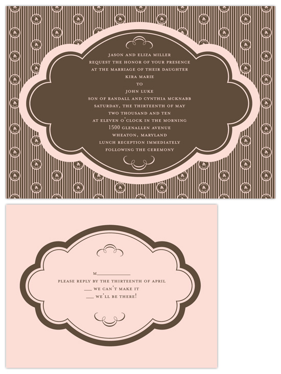 wedding invitations - truffle by Heather Mihalic