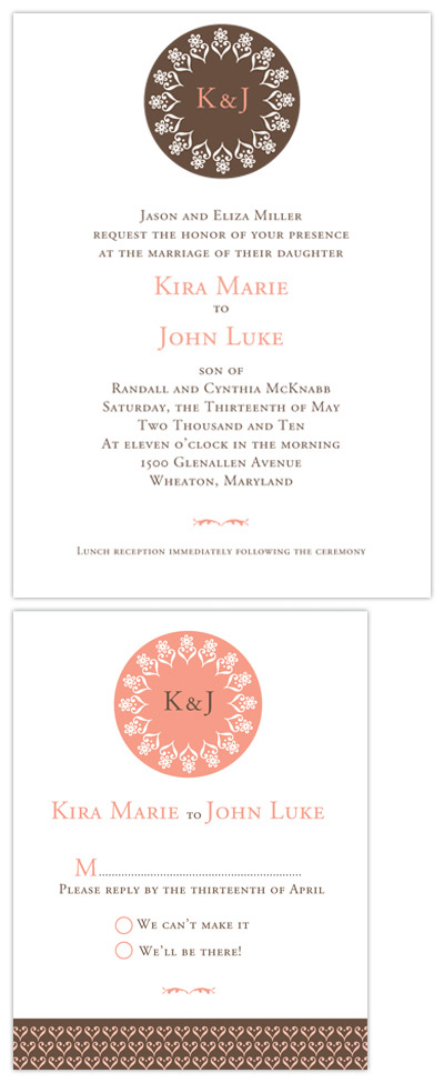 wedding invitations - Sweetness by Wendy Sommers