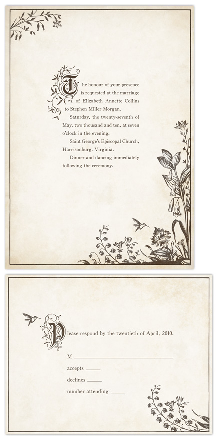 wedding invitations - Story Book by Jody Wody