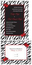 Wildly in Love Zebra Pr... by Joyful Heart Design