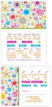 Modern Multicolor Wildf... by Joyful Heart Design