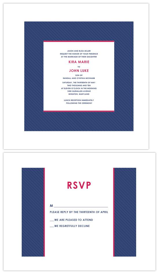 wedding invitations - Georgetown by Lynsey H R Dimas