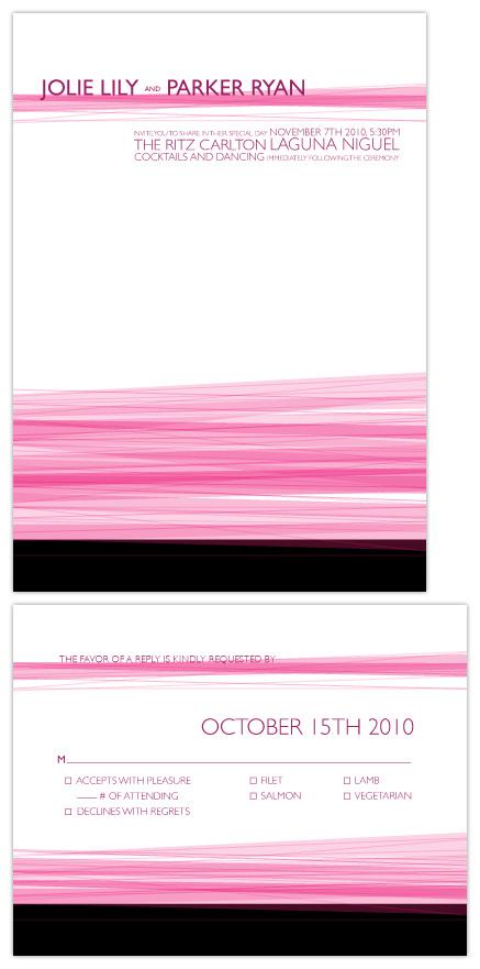 wedding invitations - Pretty in... by Kellie Medivitz