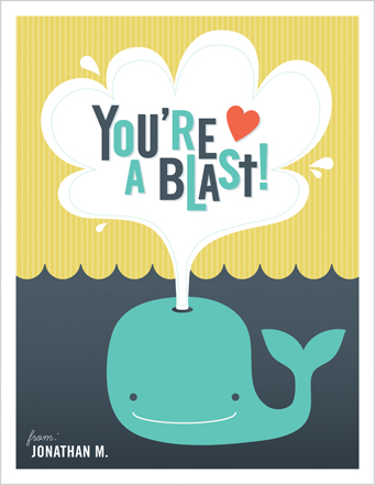 valentine's day - You're A Blast! by Dish and Spoon