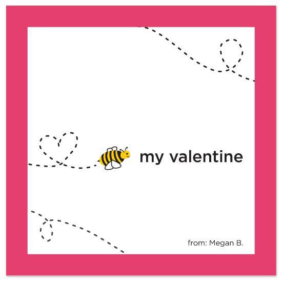 valentine's day - Bee My Valentine by Megan Bryan
