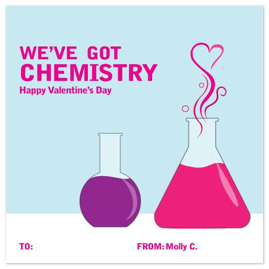 valentine's day - Chemistry by Megan Bryan